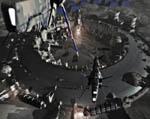 2009 Space Settlement Art Contest He3 Moon Base Mining Facility Richard Kurbis