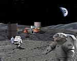 2009 Space Settlement Art Contest Lunar Base Design Lab Thiago Ceballos