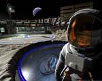 2009 Space Settlement Art Contest Moonbase One Alex Aurichio