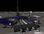 2009 Space Settlement Art Contest Moonbase Texceros Dan Thole