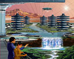 2009 Space Settlement Art Contest Sagan City and the Greening of Mars Bill Wright