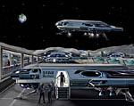 2009 Space Settlement Art Contest Star Merchant Bill Wright