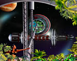 2009 Space Settlement Art Contest Terrarius Bill Wright