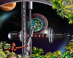 2009 Space Settlement Art Contest Terrarius Bill Wright