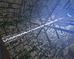 2009 Space Settlement Art Contest Urban Renewal Raymond Cassel
