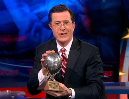 2012 NSS Awards Colbert