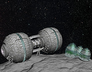 2013 student art contest Asteroid Base