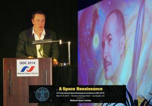 Elon Musk at International Space Development Conference