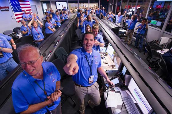 2015 NSS Awards Curiosity Rover Team