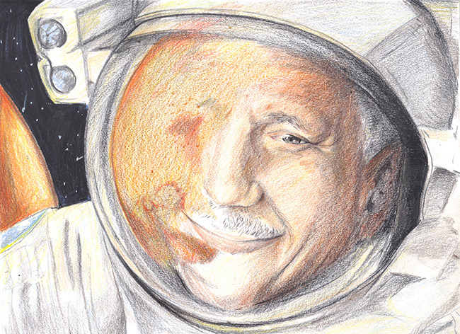 2015 Student Space Art Contest As I Travel