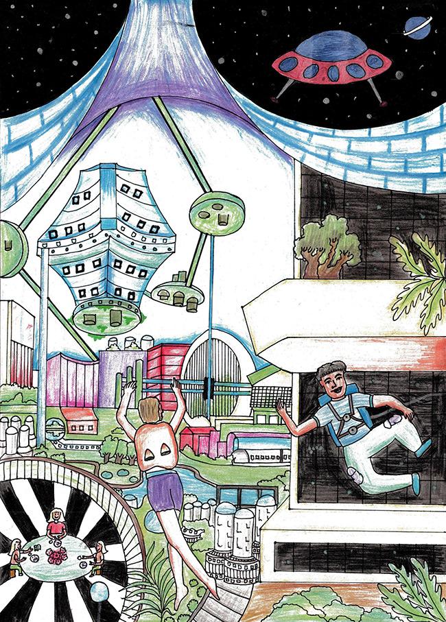 2015 Student Space Art Contest Celestial Escapade