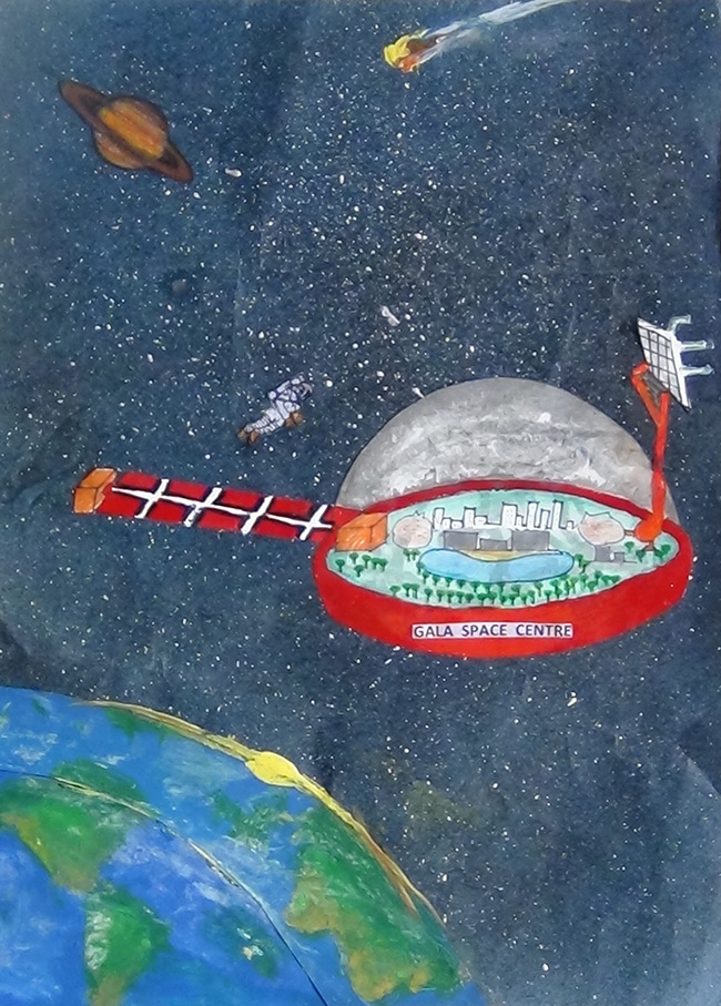 2015 Student Space Art Contest Colony A