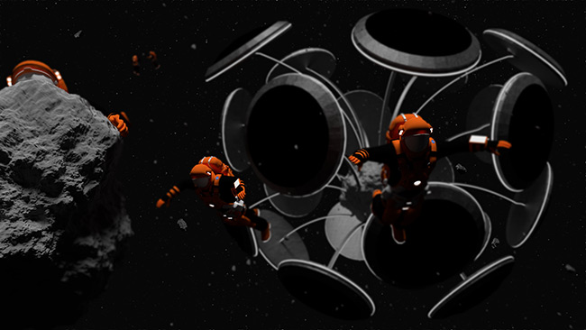 2015 Student Space Art Contest Dandelion Five