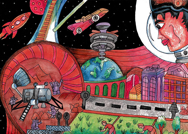 2015 Student Space Art Contest Heavenly Abode