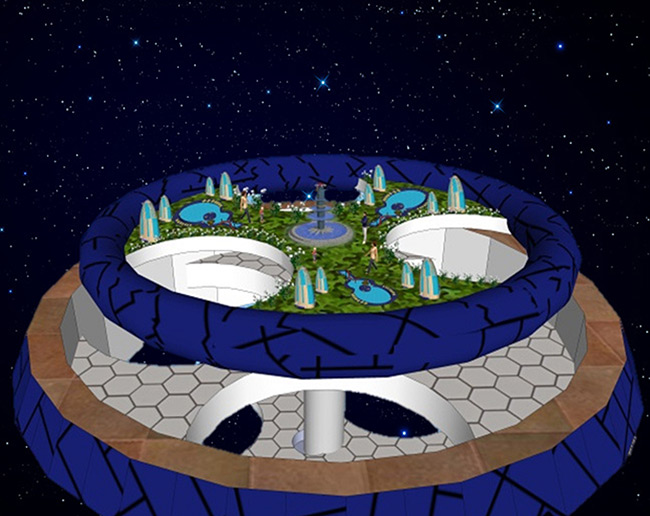 2015 Student Space Art Contest HEXIS Exterior