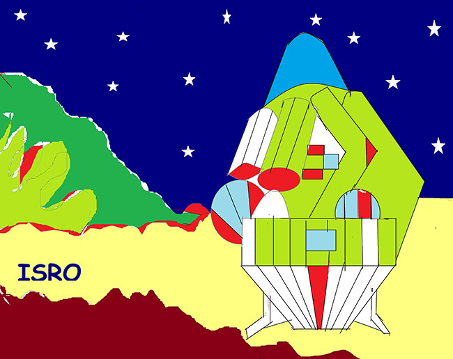 2015 Student Space Art Contest India Step to Space