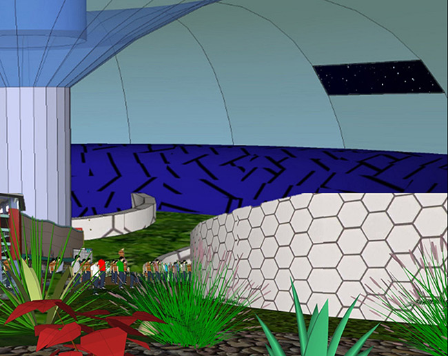 2015 Student Space Art Contest Life in HEXIS