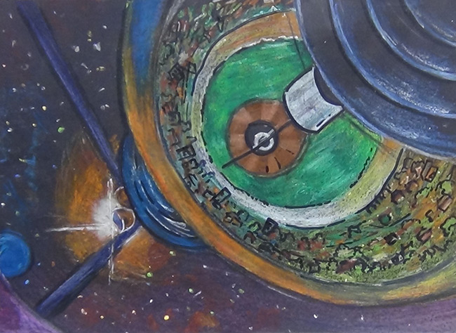 2015 Student Space Art Contest Life in Space