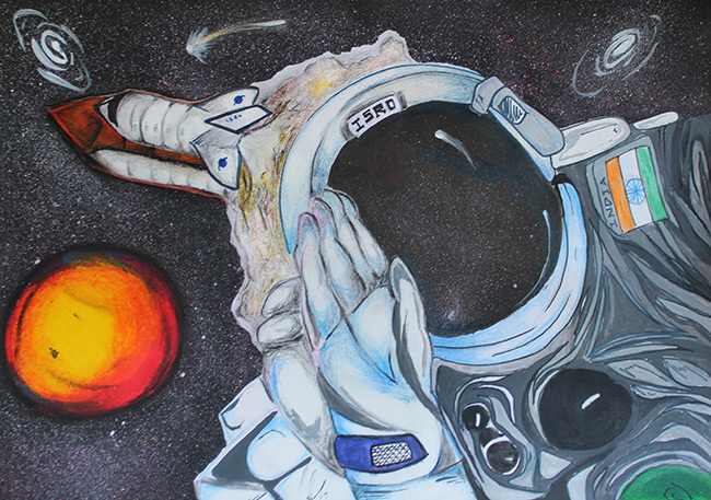 2015 Student Space Art Contest Luma