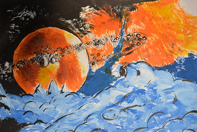 2015 Student Space Art Contest Mighty Universe