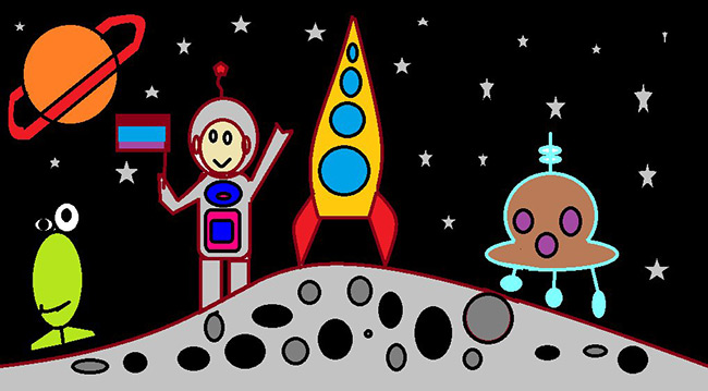 2015 Student Space Art Contest My World in Space
