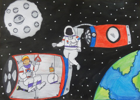 2015 Student Space Art Contest Outer Sky 2020 466 National