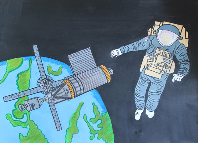 2015 Student Space Art Contest Skylab