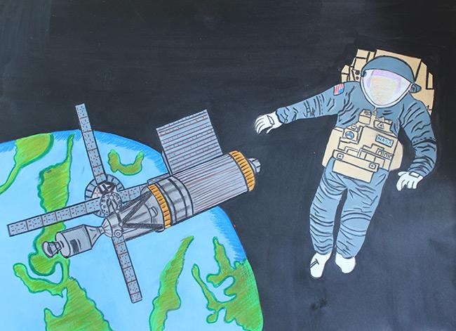 2015 Student Space Art Contest Skylab