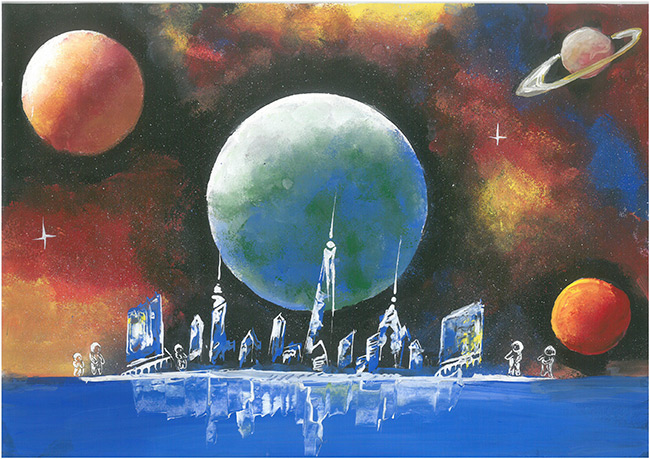 2015 Student Space Art Contest Tell Me