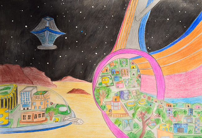 2015 Student Space Art Contest United States Of Mars