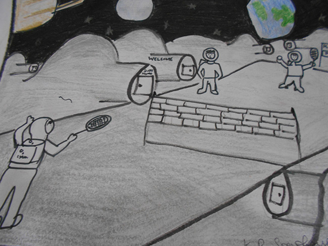 2015 Student Space Art Contest Wimbledon In Space