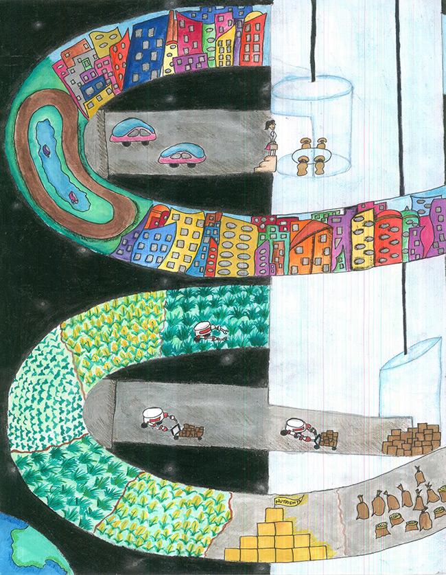 2016 student art contest Internal Transportaton System