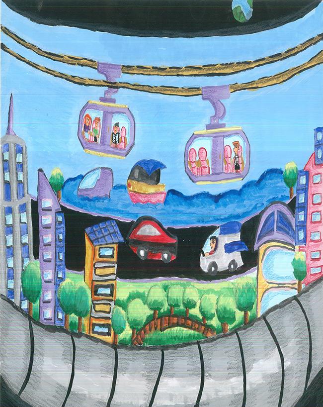 2016 student art contest Residential Torus