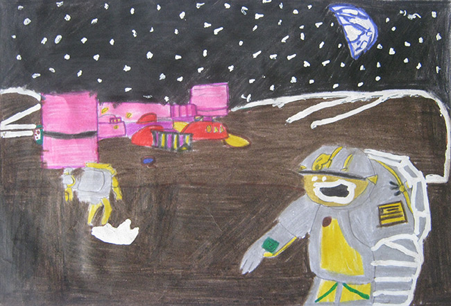 2016 student art contest Space Society