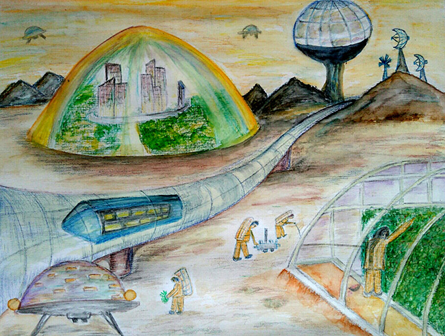 2017 student art contest The Navodayam Settlement