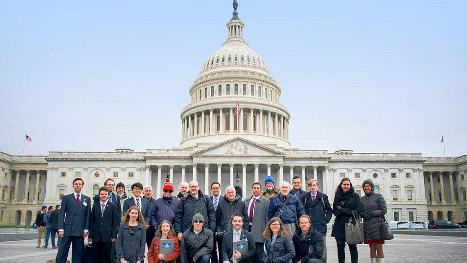 NSS members participating in a March Storm visit to legislators in Washington DC