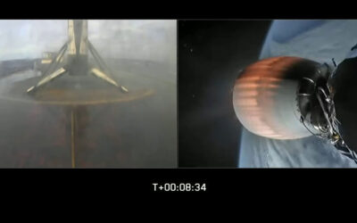Falcon 9 Soars on Record 8th Flight of the Same First Stage