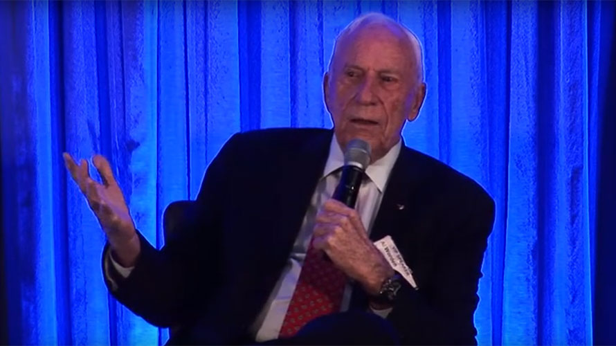 Video of Astronaut Al Worden at 2019 ISDC