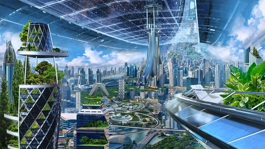 Bezos torus space settlement