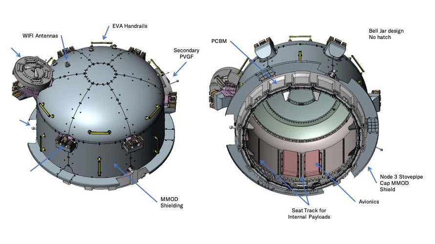 Bishop airlock overview configuration