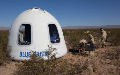 New Shepard Flight Brings Sub-Orbital Tourism Closer