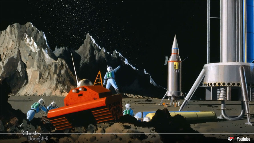 Film: Chesley Bonestell, A Brush with the Future