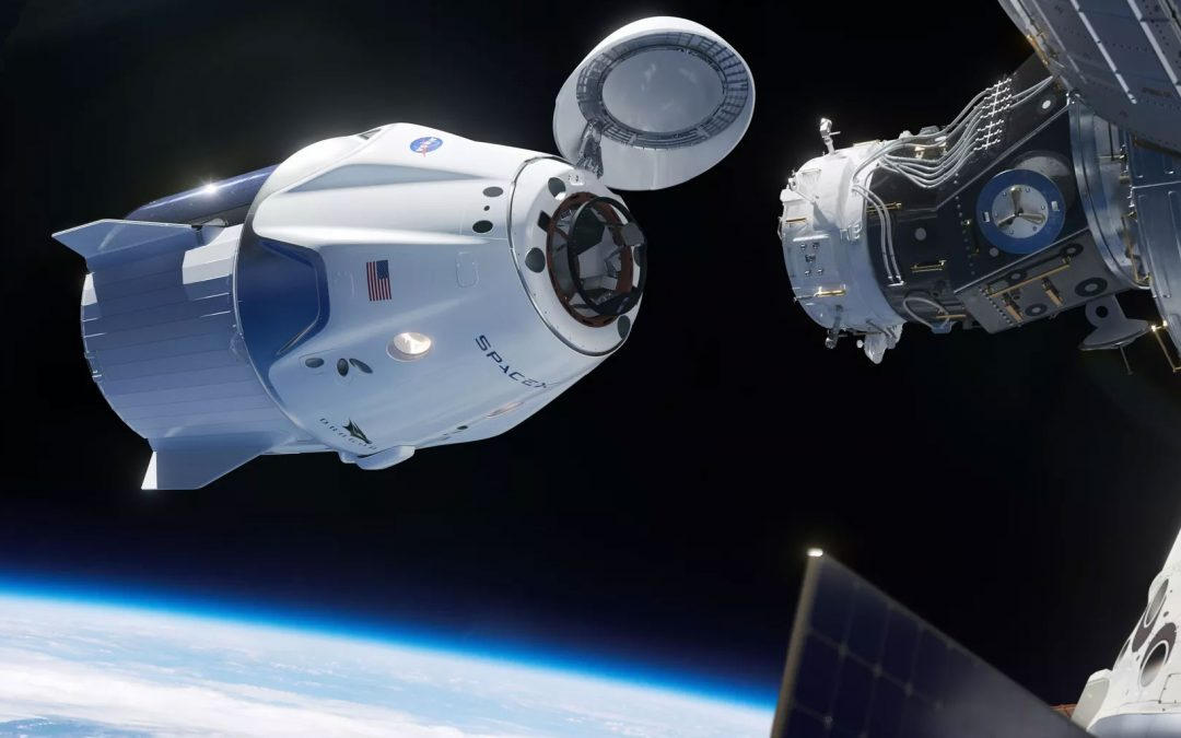 NSS Congratulates SpaceX and NASA on Docking Dragon 2 Spacecraft to International Space Station