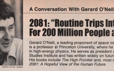 Wonders Are Many: Forty Years After O'Neill's '2081: A Hopeful View of the Human Future'