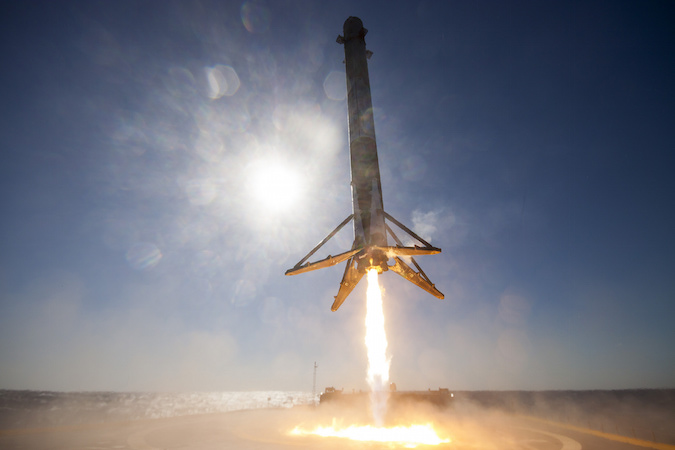 National Space Society Hails a New Age of Reusable Rockets