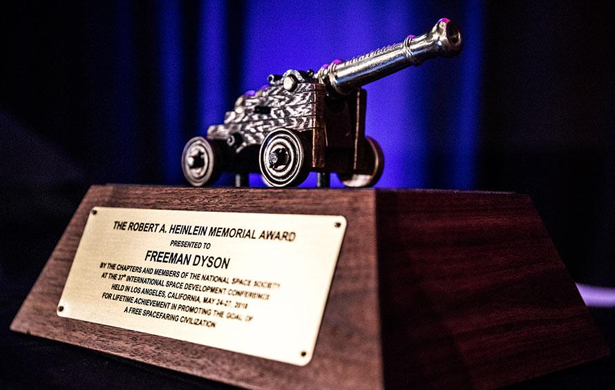 Freeman Dyson ISDC 2018 Heinlein Award