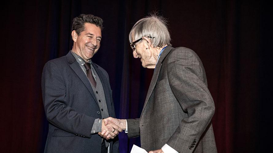 Freeman Dyson at ISDC 2018