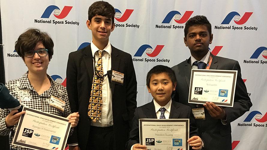 ISDC student debaters