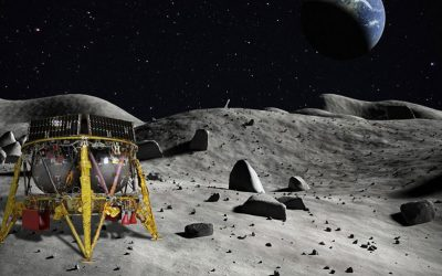 First U.S. rocket supporting a Moon landing since Apollo 17