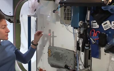 Power-Beaming Demonstrated on International Space Station